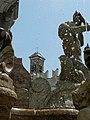 Details of the Fontana del Nettuno on the Piazza Duoma, Trento, Italy.jpg