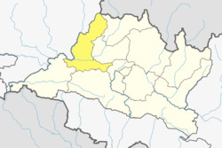 Location of District in Bagmati Pradesh