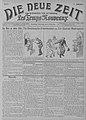 Die neue Zeit - Les Temps nouveaux, Issue of 19 March 1914, frontpage.jpg