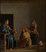 Diego Velázquez - Christ in the House of Mary and Martha (detail) - WGA24361.jpg
