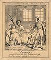 Dignity! (Caroline Amelia Elizabeth of Brunswick; Bartolomeo Pergami; probably Sir Samuel John Brooke Pechell, 3rd Bt) by George Humphrey.jpg