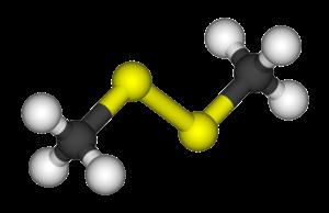 Dimethyl disulfide - Image: Dimethyl disulfide 3D balls