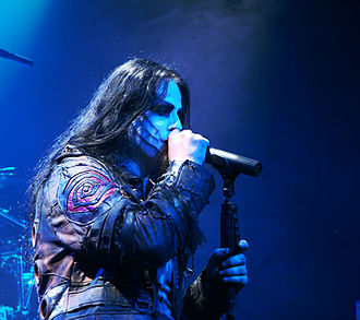Shagrath - Image: Dimmu Borgir Paris 041007 01
