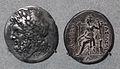 Dinastie della grecia occidentale, pirro dell'epiro, tetradracma di lokri epizefiri, 280 ac ca.JPG
