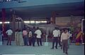 Diplodocus - Dinosaurs Alive Exhibition - Science City - Calcutta 1995-June-July 079.JPG