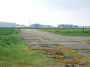 RAF Little Staughton - Disused WW2 runway