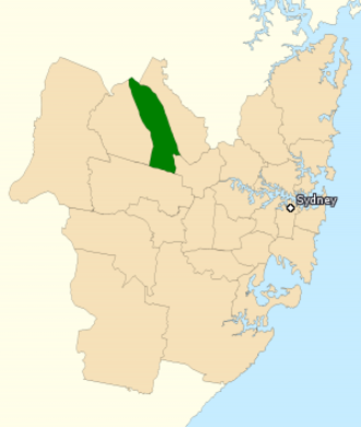 Division of Greenway - Division of Greenway in New South Wales, as of the 2016 federal election.