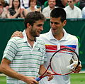 Djokovic and Simon (8612287460).jpg