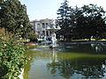 Dolmabahçe Palace Fountain.JPG