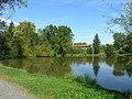 Dolní Chvatliny, local pond 2.jpg