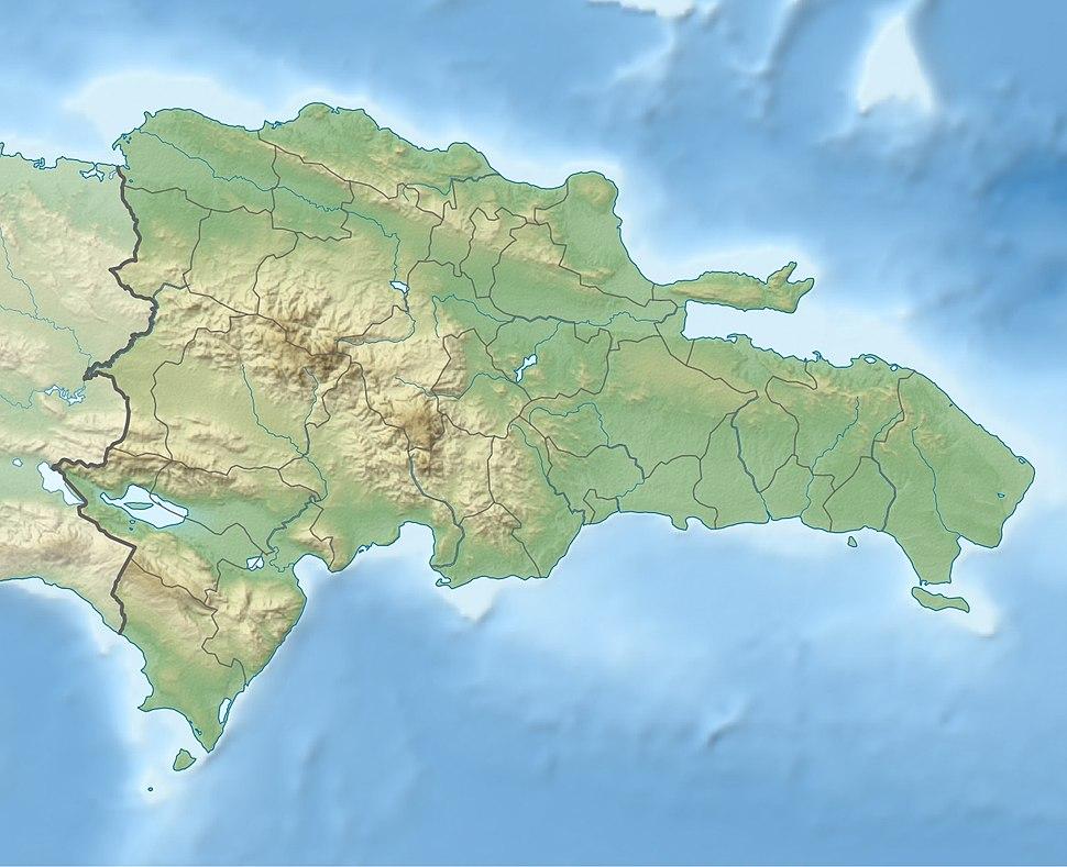 Santo Domingo is located in the Dominican Republic