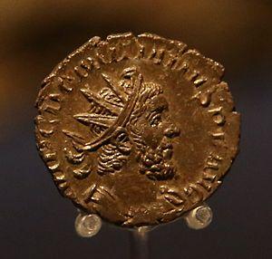 Domitianus II - Image: Domitianus II obverse ashmolean 2014