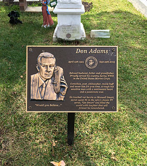 Don Adams - Grave of Don Adams at Hollywood Forever