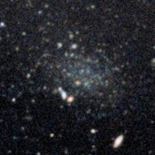 Donatiello I Dwarf spheroidal galaxy located in the constellation Andromeda