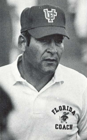 Doug Dickey - Dickey from 1971 Seminole yearbook