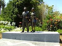 Douglas & Gladys Nicholls statue.JPG