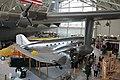"Douglas DC-3 under wing of Hughes H-4 Hercules ""Spruce Goose"" (6586732945) (10).jpg"