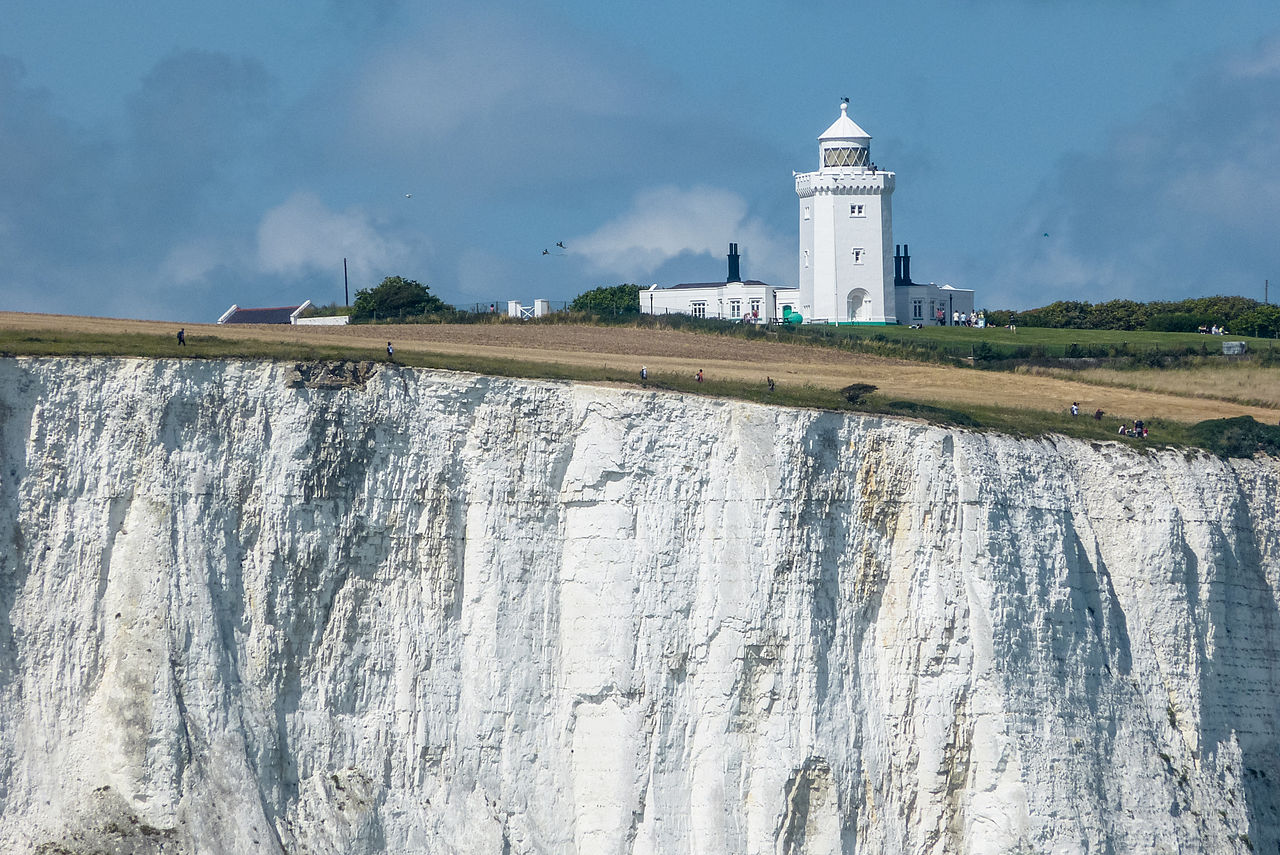 White Cliffs Of Dover Painting