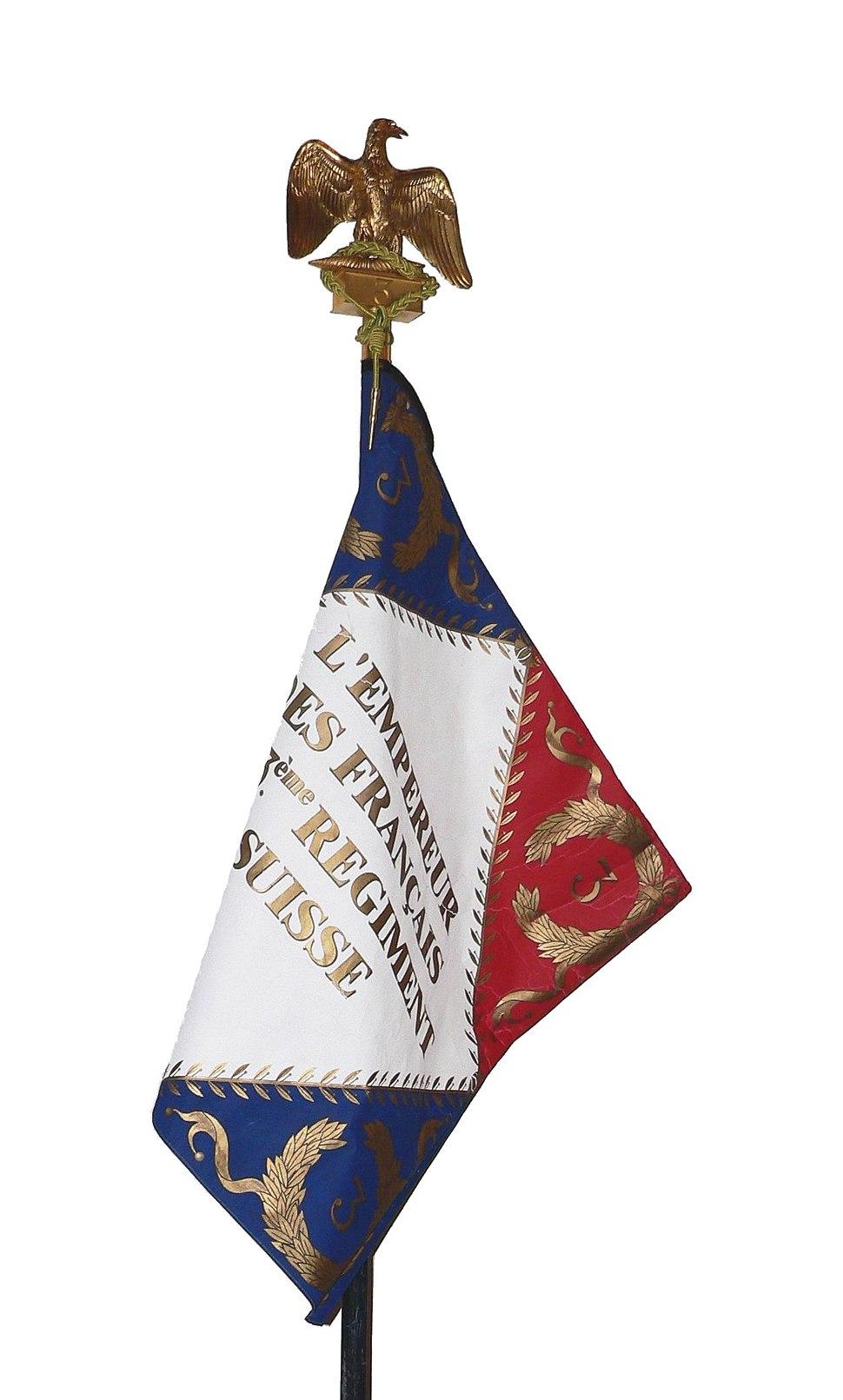 Drapeau-3e-reg-suisse-napoleon-p1030181