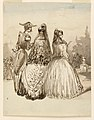 "Drawing, A Street Scene in Madrid, from Series ""Sketches in Madrid"", ca. 1856 (CH 18346409).jpg"