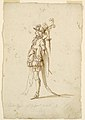 Drawing, Costume Design- A Page for a Ballet, ca. 1720 (CH 18565485).jpg