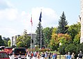 Drillfield Drive in front of Burruss Hall - Virginia Polytechnic Institute and State University - panoramio.jpg