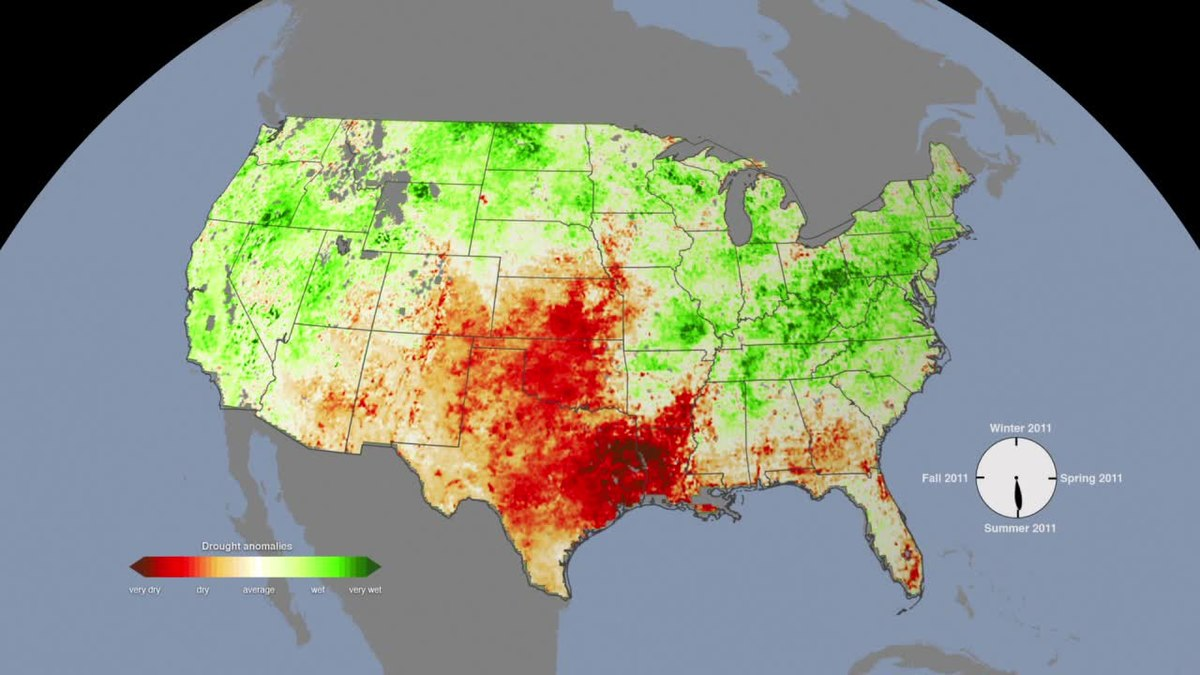 2010�2013 southern united states and mexico drought