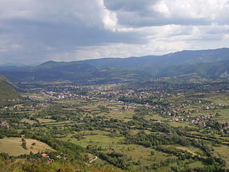 Drvar - View of the town