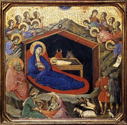 Duccio di Buoninsegna - Nativity - WGA06756