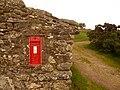 Dunnabridge, postbox No. PL20 453 - geograph.org.uk - 1466649.jpg