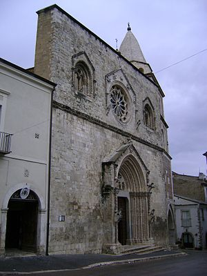 Province of Campobasso - Larino Cathedral.
