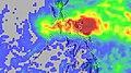 Durian 2006-11-24 - 2006-12-01 rainfall total.jpg