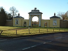 Dyrham Park , Entrance Gateway - geograph.org.uk - 129672.jpg