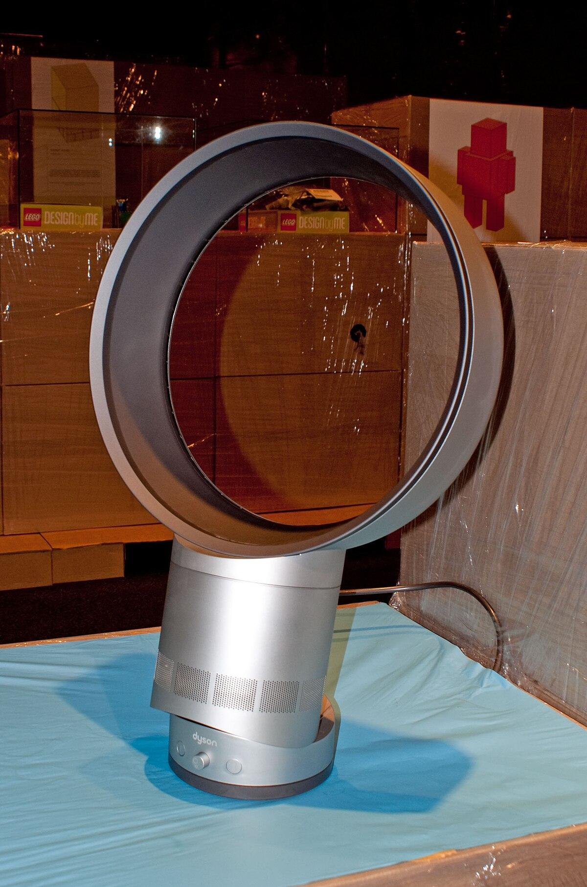 Ventilatore senza pale wikipedia for Ventilatore a pale