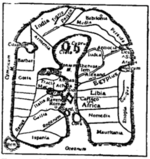 Fig. 7.—Map of Albi(8th century).