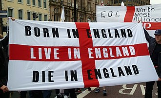 Counter-jihad - English Defence League rally in Newcastle, UK, 2010