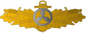 Engineering duty officer - EDO Qualification Insignia