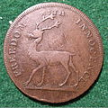 ENGLAND, MIDDLESEX-THE BUCK SOCIETY HALFPENNY 1797 a - Flickr - woody1778a.jpg