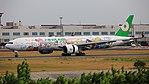 EVA Airways (Hello Kitty Sanrio Family livery), Boeing 777-300ER, B-16703 - TPE (36707814036).jpg