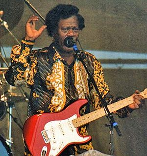 Earl King - King at the New Orleans Jazz & Heritage Festival, 1997