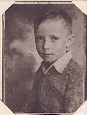 Earl W. Vaughn - Earl Vaughn at age 6