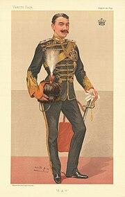 Earl of Denbigh Vanity Fair 23 August 1894