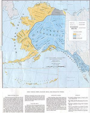 Classification of indigenous peoples of the Americas - Early indigenous languages in Alaska