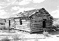 Early home of Ebenezer Bryce in Bryce Canyon National Park. Two miles south of Tropic, Utah and on the east side of the Pahreah (a057975d1d45439c8e62f3bdbf8dc74d).jpg