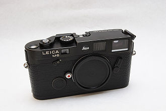 Leica Camera - Leica M6 Black Chrome