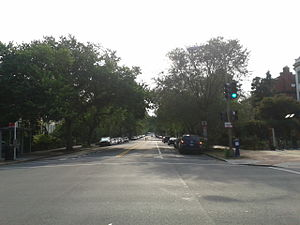 East Capitol Street - East Capitol Street at its intersection with 8th Street, looking towards the U.S. Capitol