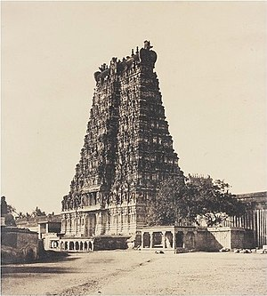 Linnaeus Tripe - Image: East Gopuram of the Great Pagoda
