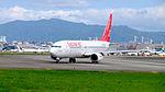 Eastar Jet B737-86N HL8023 Departing from Taipei Songshan Airport 20151003c.jpg