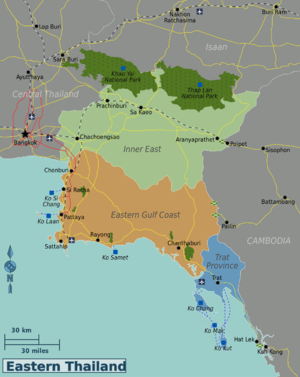 Image Result For Thailand Map Regions