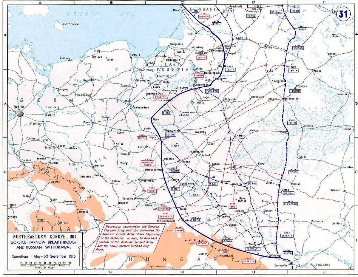 Battle of Galicia: description, history, results 27